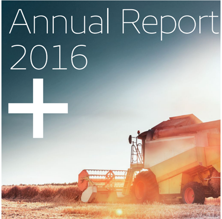 Image of EKF's annual report 2016